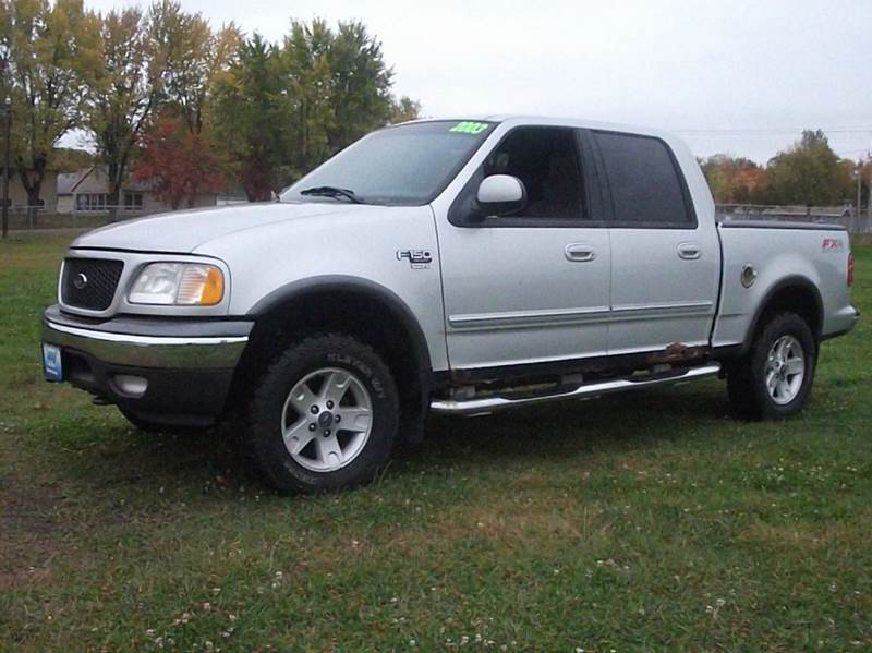 2003 ford f 150 xlt 4dr supercrew 4wd styleside sb in grand meadow mn rubes auto