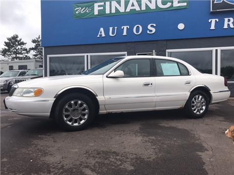 2002 Lincoln Continental for sale in Mora, MN