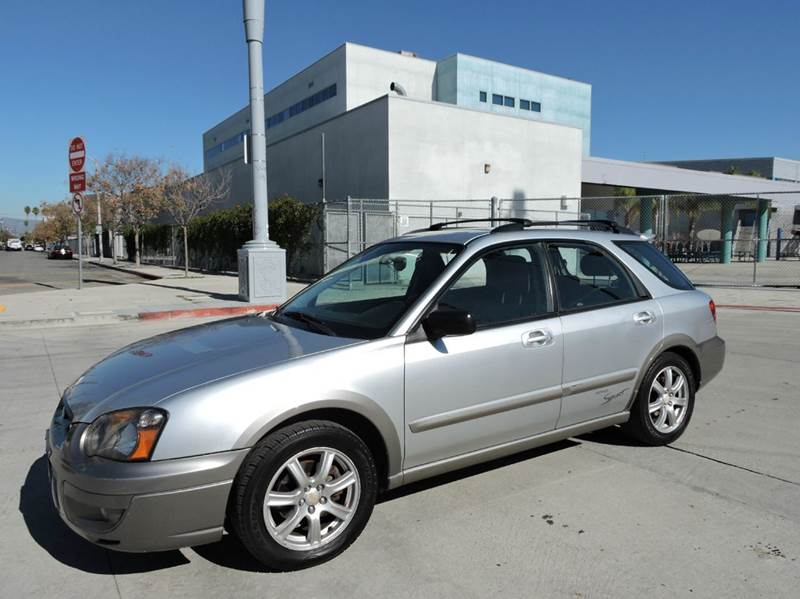2005 subaru impreza awd outback sport special edition 4dr wagon in north hollywood ca good. Black Bedroom Furniture Sets. Home Design Ideas