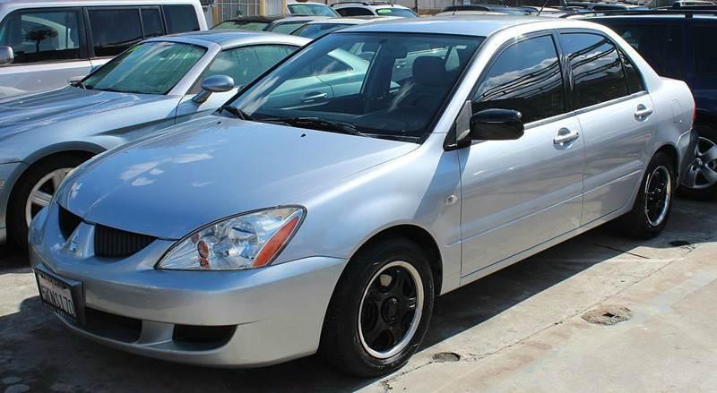 2004 mitsubishi lancer es 4dr sedan in north hollywood ca good vibes auto sales. Black Bedroom Furniture Sets. Home Design Ideas