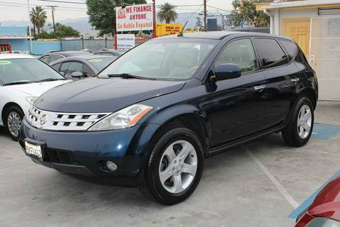 2004 Nissan Murano for sale in North Hollywood, CA