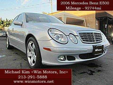 2006 Mercedes-Benz E-Class for sale in Los Angeles, CA