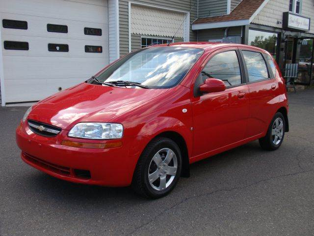 2007 chevrolet aveo aveo5 ls 5 4dr hatchback in bethany ct. Black Bedroom Furniture Sets. Home Design Ideas