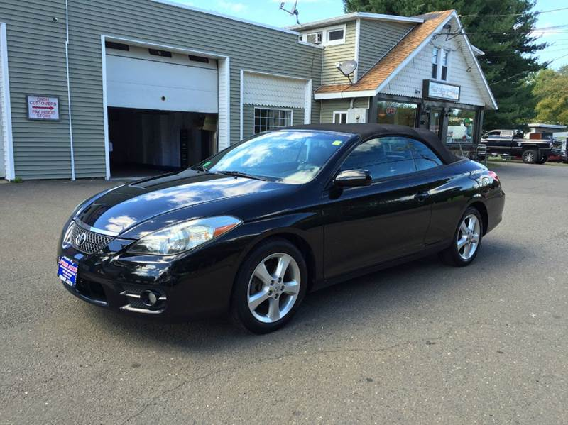 2008 toyota camry solara sle v6 2dr convertible 5a in bethany ct prime auto llc. Black Bedroom Furniture Sets. Home Design Ideas