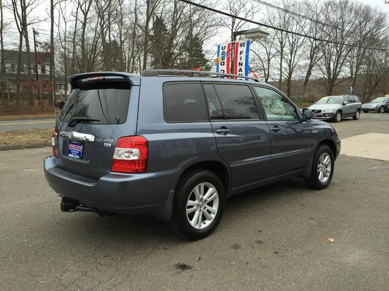 2007 toyota highlander hybrid base awd 4dr suv w 3rd row in bethany ct prime auto llc. Black Bedroom Furniture Sets. Home Design Ideas