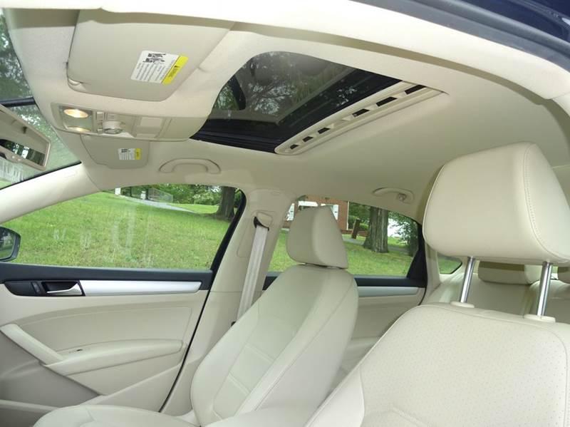 2012 Volkswagen Passat SE 4dr Sedan 6A w/ Sunroof - Winston Salem NC