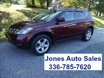 2005 Nissan Murano for sale in Winston Salem, NC
