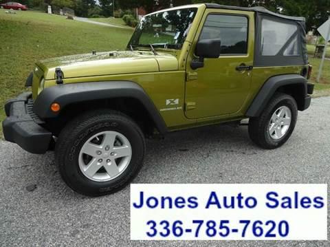 2008 Jeep Wrangler for sale in Winston Salem, NC