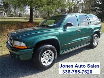 2003 Dodge Durango for sale in Winston Salem, NC