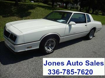 1986 Chevrolet Monte Carlo for sale in Winston Salem, NC
