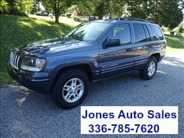 2004 Jeep Grand Cherokee for sale in Winston Salem, NC