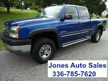2004 Chevrolet Silverado 2500HD for sale in Winston Salem, NC