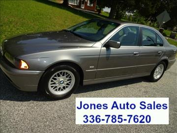 2002 BMW 5 Series for sale in Winston Salem, NC