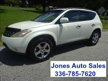 2004 Nissan Murano for sale in Winston Salem, NC