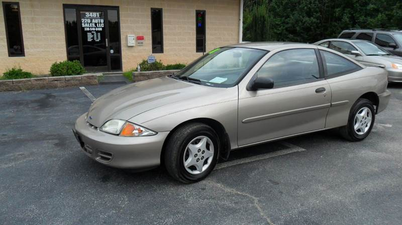 2001 Chevrolet Cavalier 2dr Coupe - Madison NC