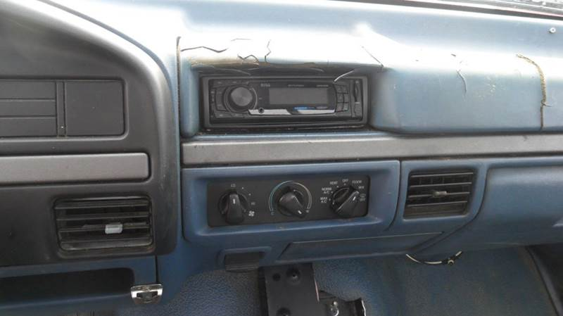 1995 Ford F-250 2dr XLT Standard Cab LB - Madison NC