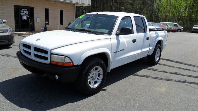 2002 Dodge Dakota Sport 4dr Quad Cab 2WD SB - Madison NC