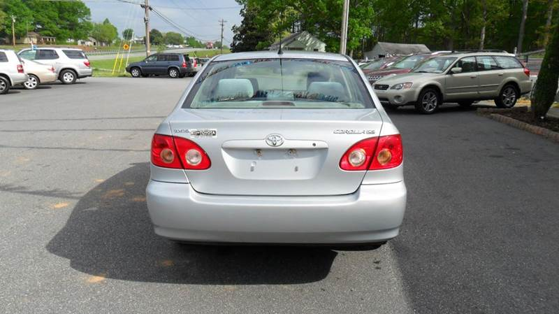 2007 Toyota Corolla CE 4dr Sedan (1.8L I4 4A) - Madison NC