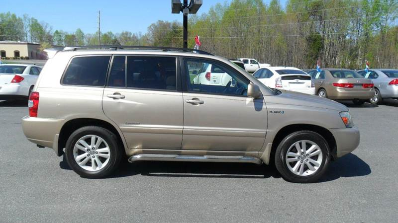 2007 Toyota Highlander Hybrid Limited 4dr SUV w/3rd Row - Madison NC