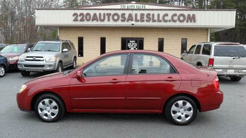 2006 Kia Spectra for sale in Madison, NC