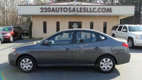 2009 Hyundai Elantra for sale in Madison, NC