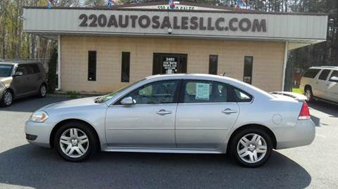 2011 Chevrolet Impala for sale in Madison, NC