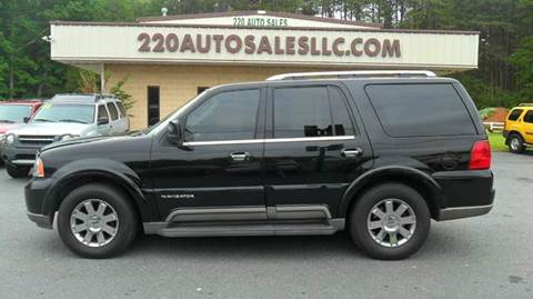 2004 Lincoln Navigator for sale in Madison, NC