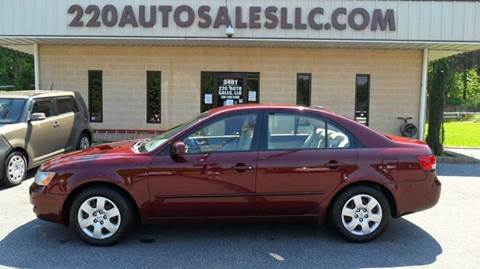 2008 Hyundai Sonata for sale in Madison, NC