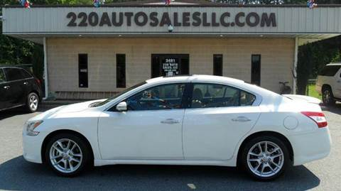 2009 Nissan Maxima for sale in Madison, NC