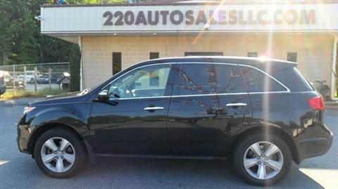 2011 Acura MDX for sale in Madison, NC