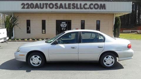 2001 Chevrolet Malibu for sale in Madison, NC