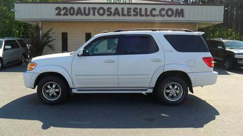 2001 Toyota Sequoia for sale in Madison, NC