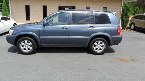 2002 Toyota Highlander for sale in Madison, NC