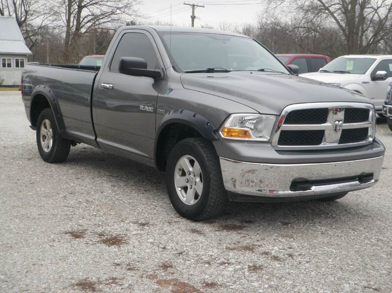 2009 Dodge Ram Pickup 1500 4x4 SLT 2dr Regular Cab 8 ft. LB Pickup - Ladoga IN