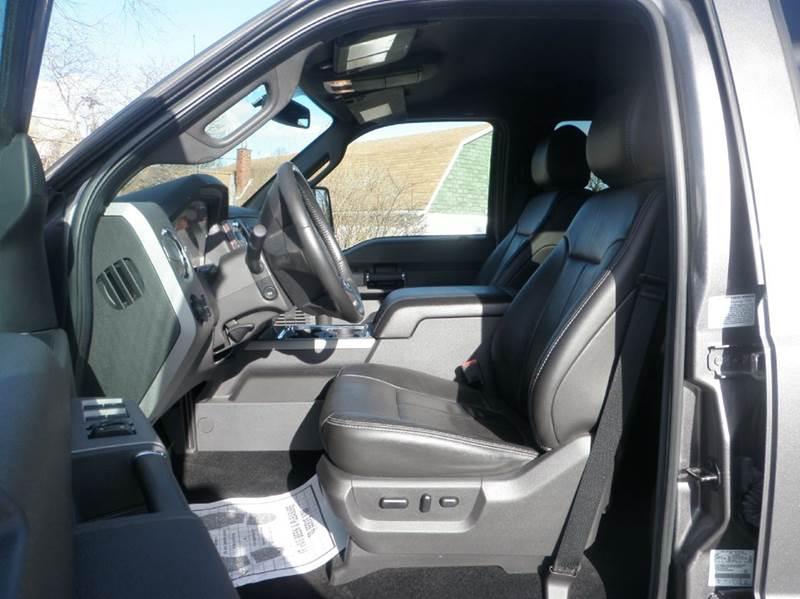 2012 Ford F-350 Super Duty 4x4 Lariat 4dr Crew Cab 6.8 ft. SB SRW Pickup - Ladoga IN