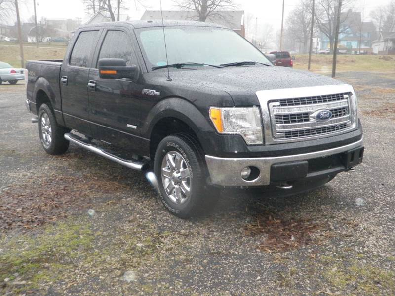 2013 Ford F-150 4x4 XLT 4dr SuperCrew Styleside 5.5 ft. SB - Ladoga IN