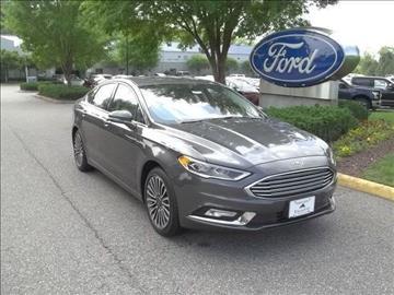 2017 Ford Fusion for sale in Williamsburg, VA
