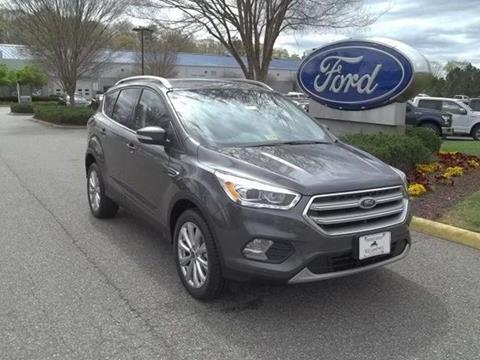 2017 Ford Escape for sale in Williamsburg VA