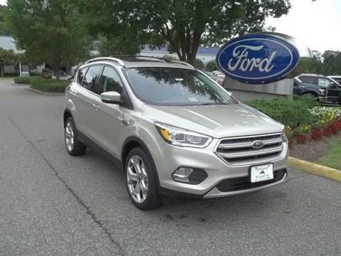 2017 Ford Escape for sale in Williamsburg, VA