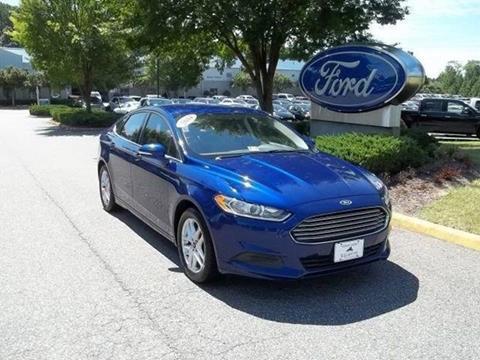2014 Ford Fusion for sale in Williamsburg, VA