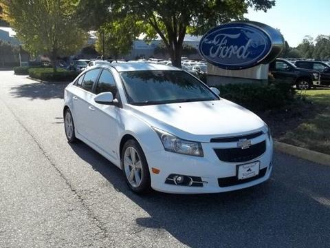 2012 Chevrolet Cruze for sale in Williamsburg VA