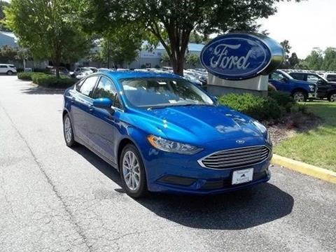2017 Ford Fusion for sale in Williamsburg VA