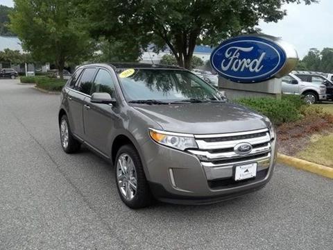 2014 Ford Edge for sale in Williamsburg VA