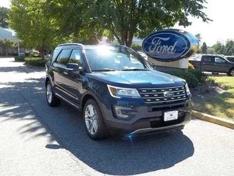 2017 Ford Explorer for sale in Williamsburg, VA