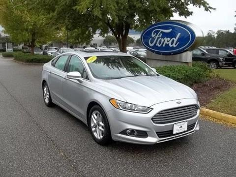 2015 Ford Fusion for sale in Williamsburg, VA