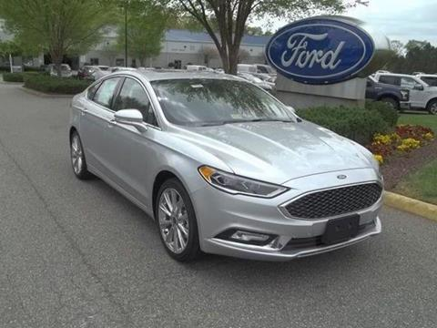 2017 Ford Fusion for sale in Williamsburg VA