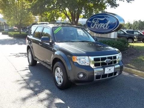 2008 Ford Escape Hybrid for sale in Williamsburg, VA