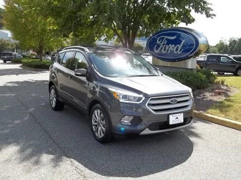 2018 Ford Escape for sale in Williamsburg, VA