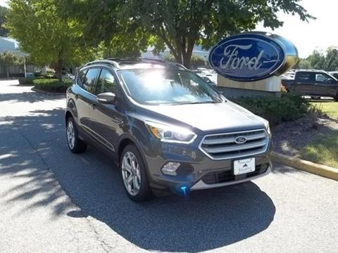 2018 Ford Escape for sale in Williamsburg VA
