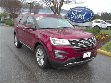 2016 Ford Explorer for sale in Williamsburg, VA